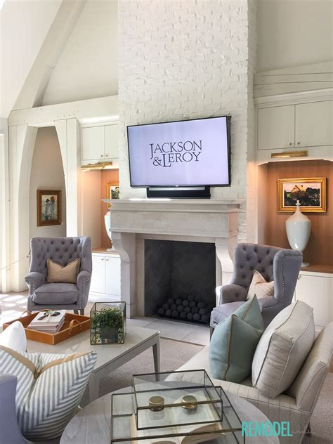 Ancient Living Room by Remodelaholic Get This Look Ancient Modern Living Room