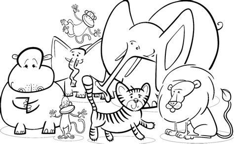 jungle baby coloring pages desenhos safari para colorir cantinho do educador infantil