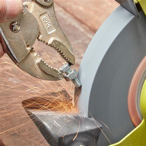 sharpen mower blade bench grinder 100 sharpen mower blade bench grinder bench grinder