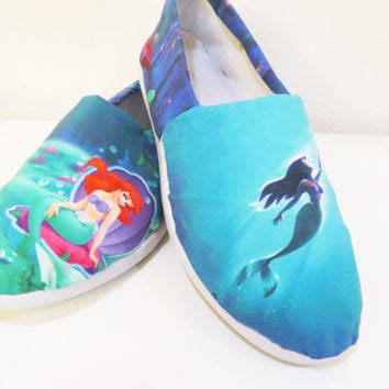 the mermaid slippers best the mermaid canvas products on wanelo