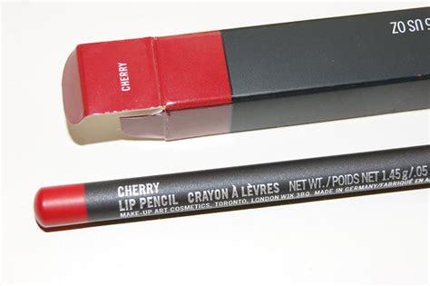 Mac Lip Pencil In Cherry mac lip liner indian makeup