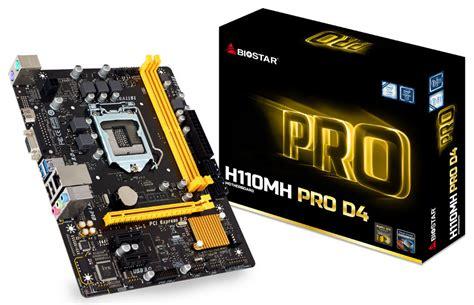 Biostar H110mh Pro D4 Lga1151 Intel H110 Ddr4 biostar placas madre