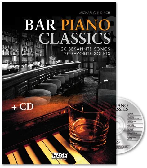 top 20 bar songs bar piano classics mit cd 20 bekannte