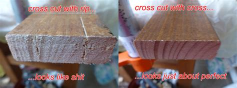 the cross cut saw blade what is the difference between a rip cut and a