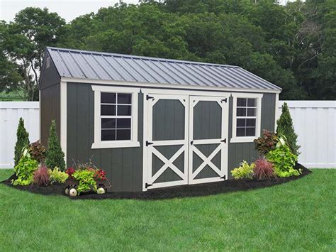 Painted Garden Sheds by Liberty Storage Solutions