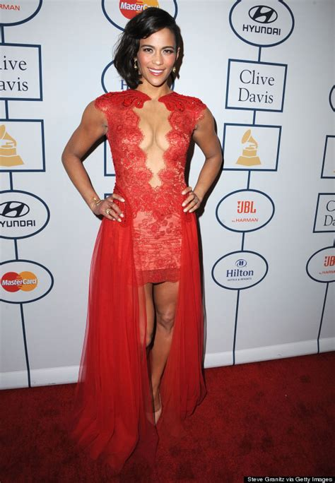 Mini Apartment by Paula Patton Wows In Plunging Mini Dress Huffpost