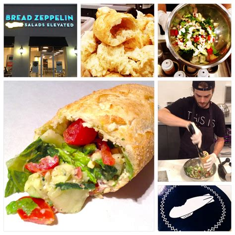 Oven Zeppelin new concept offers the bright idea of custom chopped salads in held hollowed out baguettes