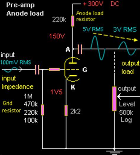 220k grid resistor valve s pre and driver