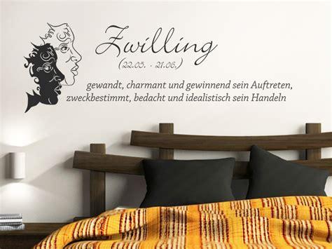 Wandtattoo Kinderzimmer Zwillinge by Wandtattoo Sternzeichen Zwillinge Wandtattoo De