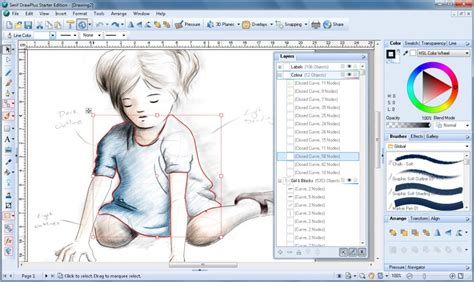 free draw program six free alternatives to adobe illustrator