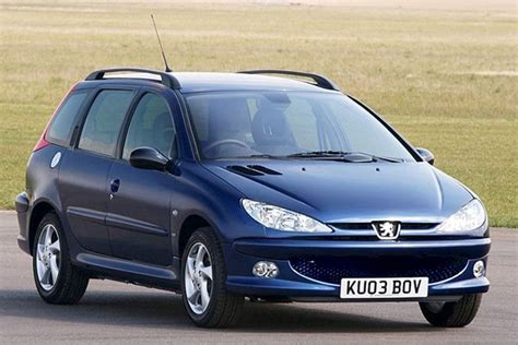 peugeot 206 price peugeot 206 sw from 2002 used prices parkers