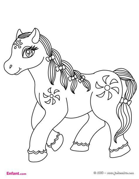 140952891x activites pour les filles coloriages pour fille le poney