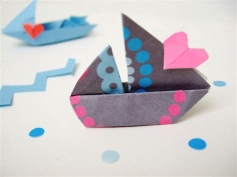 How To Make Different Types Of Paper Boats - how to fold different kinds of origami boats free