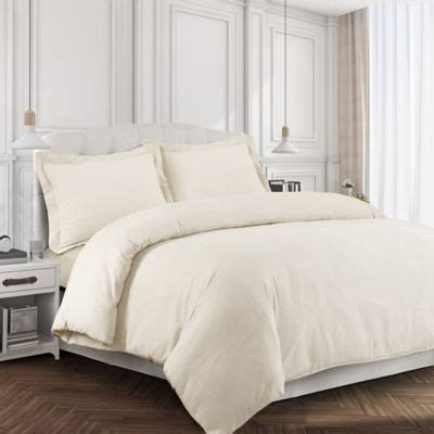 queen flannel duvet cover buy ivory duvet covers from bed bath beyond