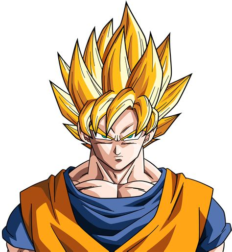 Kaos Ballz Goku Saiyan 3 Lightning is there any physical difference between ssj and ssj2 they look the same to me