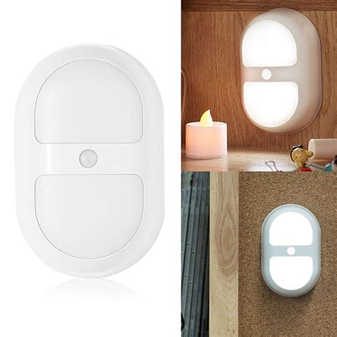 auto on ir motion sensor detector led bedroom