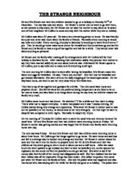 Neighbourhood Essay by Write An Essay About With My Neighbours
