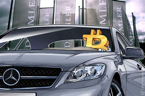 mercedes buys a bitcoin company starting a payment