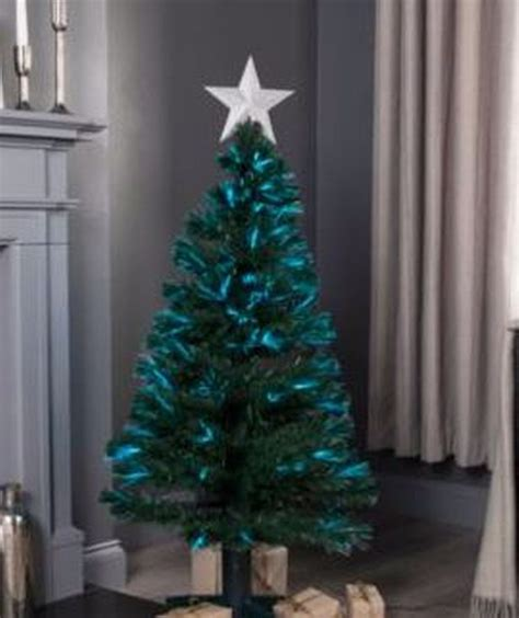 bq fibre optic christmas trees b q sale trees and lights heavily discounted get a start for next