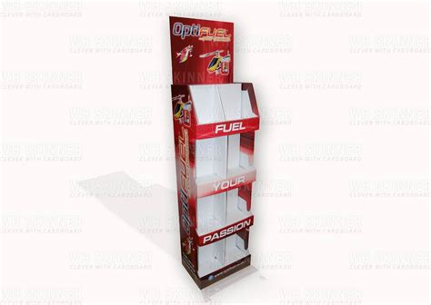 Cardboard Shelf Display Boxes by Strong Free Standing Display Wh Skinner