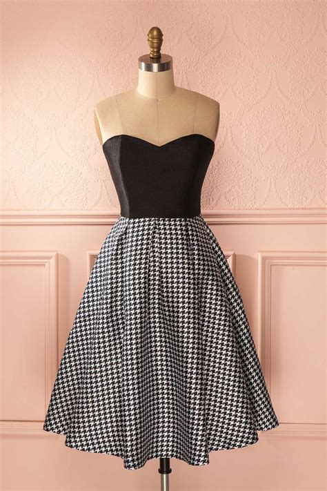 Midi Dress Houndstooth W7274udi D 25 midi dresses ideas on black midi