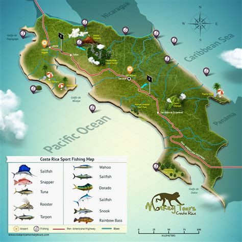 maps of costa rica costa rica map where is costa rica