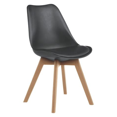 Habitat Dining Chairs Jerry Black Dining Chair Buy Now At Habitat Uk
