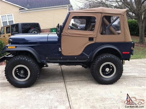 jeep 1980 cj5 1980 jeep cj5 excellent condition