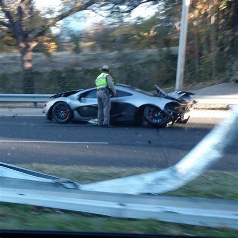 mclaren p1 crash a 1 15 million mclaren p1 just crashed in dallas texas