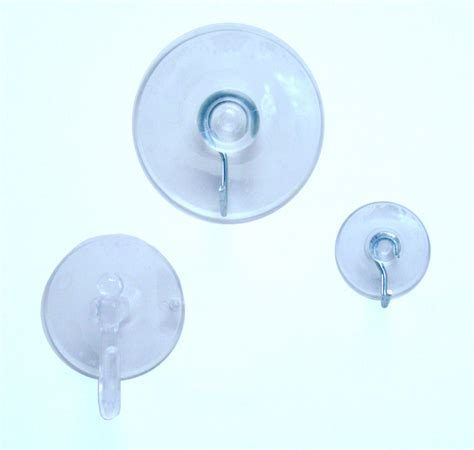 17pc suction cup hook clear glass window wall sucker