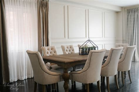 restoration hardware dining room chairs restoration hardware inspired diy wainscoting chair rail