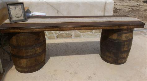wine barrel bar table wine barrel tables dpc event services
