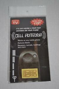 5 cell phone mobile phone antenna signal booster nip free ship usa ebay