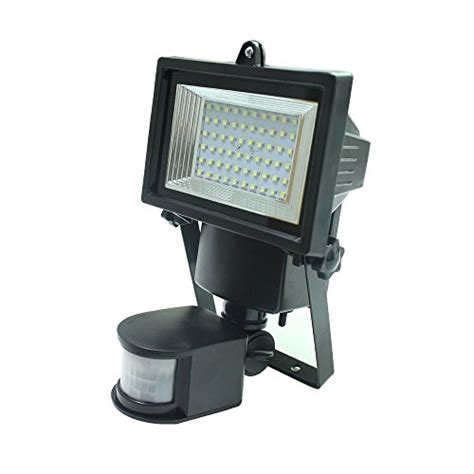 meikee 60 led solar motion sensor light 15m motion