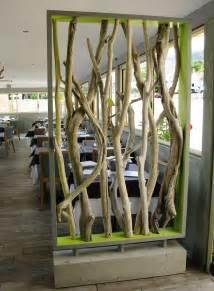 Stick Screen Room Divider - deco bois flotte decoration l habis