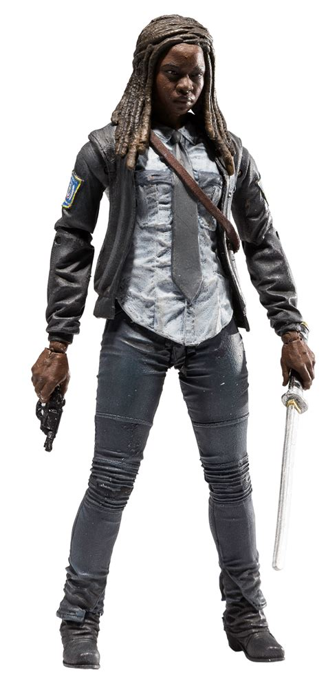 Tv Series The Walking Dead constable michonne the walking dead tv series 9 mcfarlane