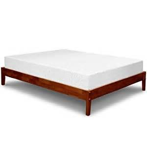 Platform Bed For Memory Foam Mattress Best Price Mattress 10 Quot Memory Foam Mattress