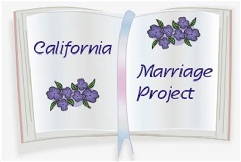 Marriage Records Ca Free California Marriage Records
