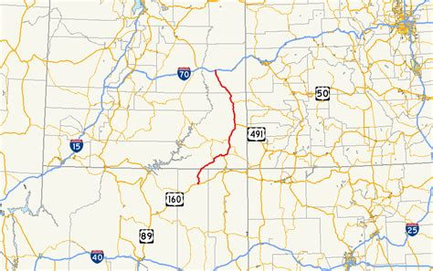 map us routes file us route 163 map png