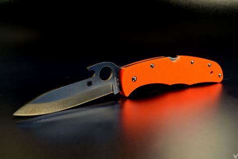 endura wave spyderco endura 4 wave safety custom scale division