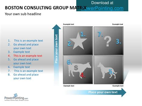 bcg powerpoint template powerpoint bcg matrix