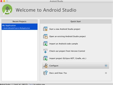 how to update android studio android studio setup on mac bermotech