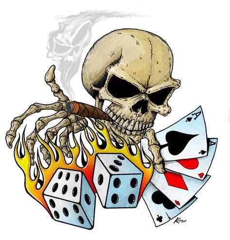 skull cards tattoo designs 27 skull tattoos