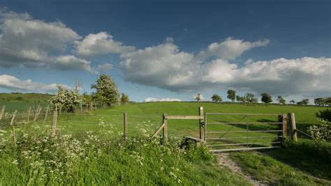 timelapse  beautiful english countryside stock footage video  royalty