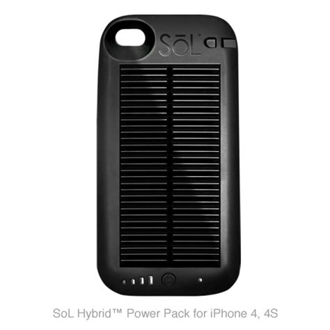 Go Or Go Home For Iphone 4 4s 1 the new sol hybrid power pack for iphone 4 4s iphone 3g 3gs is a fast charging power pack