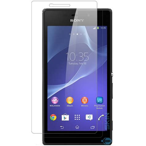 Tempered Glass Zu M2 inskin 0 3mm tempered glass for sony 174 xperia m2 polished edges oleophobic coating 9h hardness