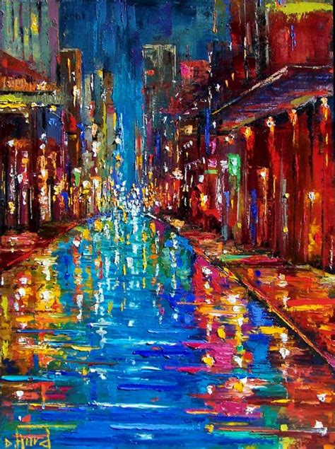 new paint debra hurd original paintings and jazz new orleans and new york cityscape paintings