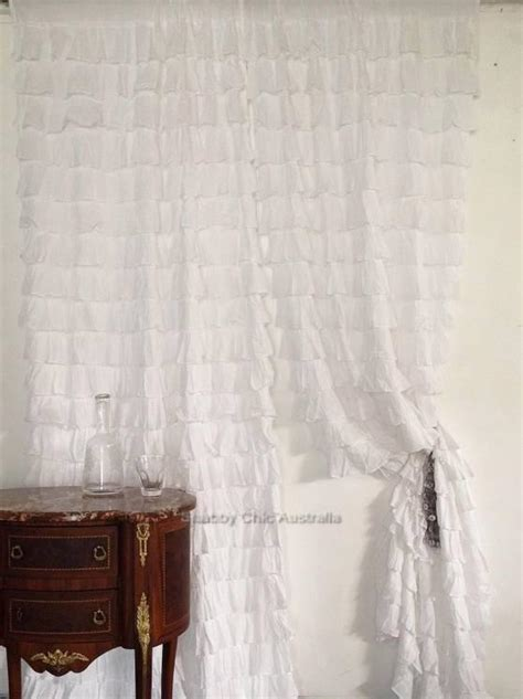 french provincial curtains shabby french provincial curtains drapes 2 ivory vintage