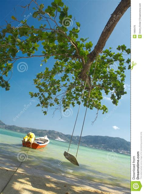 ocean swing swing the ocean royalty free stock image image 1966476