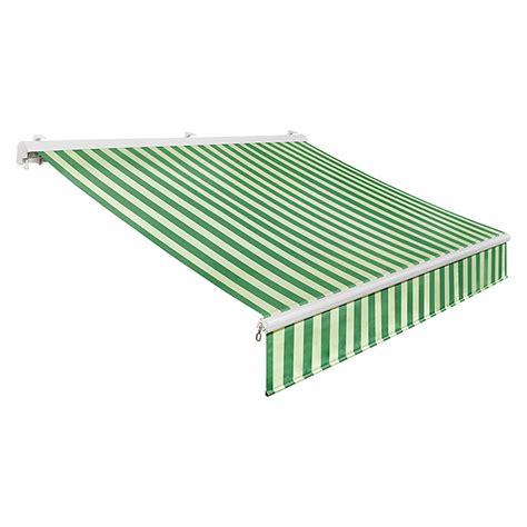 baumarkt markisen sunfun h 252 lsenmarkise gr 252 n hellgr 252 n breite 4 m ausfall